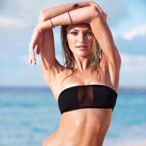Victoria's Secret mesh bandeau top